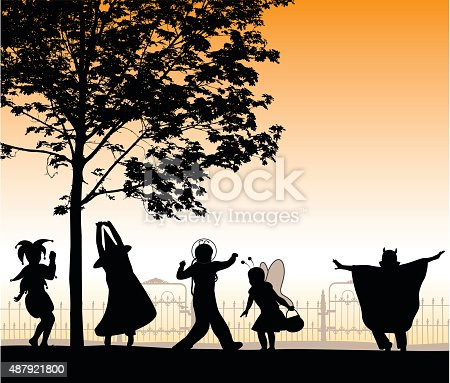 Halloween Friends Gathering