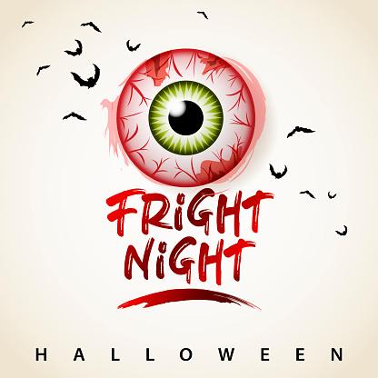 Halloween Fright Night Eye