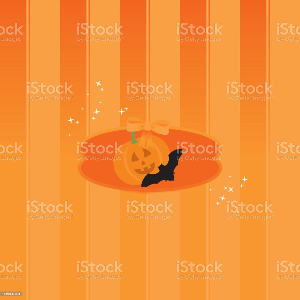 Halloween Greeting card royalty-free halloween greeting card stock vector art & more images of backgrounds