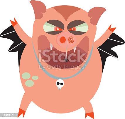 istock Hallowe'en Hog 96891521