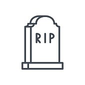 Free Download Of Rip Tombstone Vector Graphics And