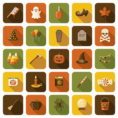 Halloween Icon Set