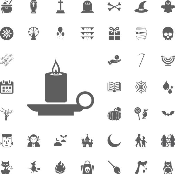 halloween icon set. - vegetable blood stock illustrations, clip art, cartoons, & icons