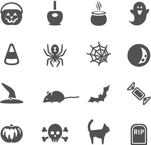Halloween Icons http://www.cumulocreative.com/istock/File Types.jpg ghost icon stock illustrations