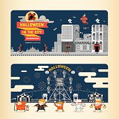 Halloween in the City infographics
