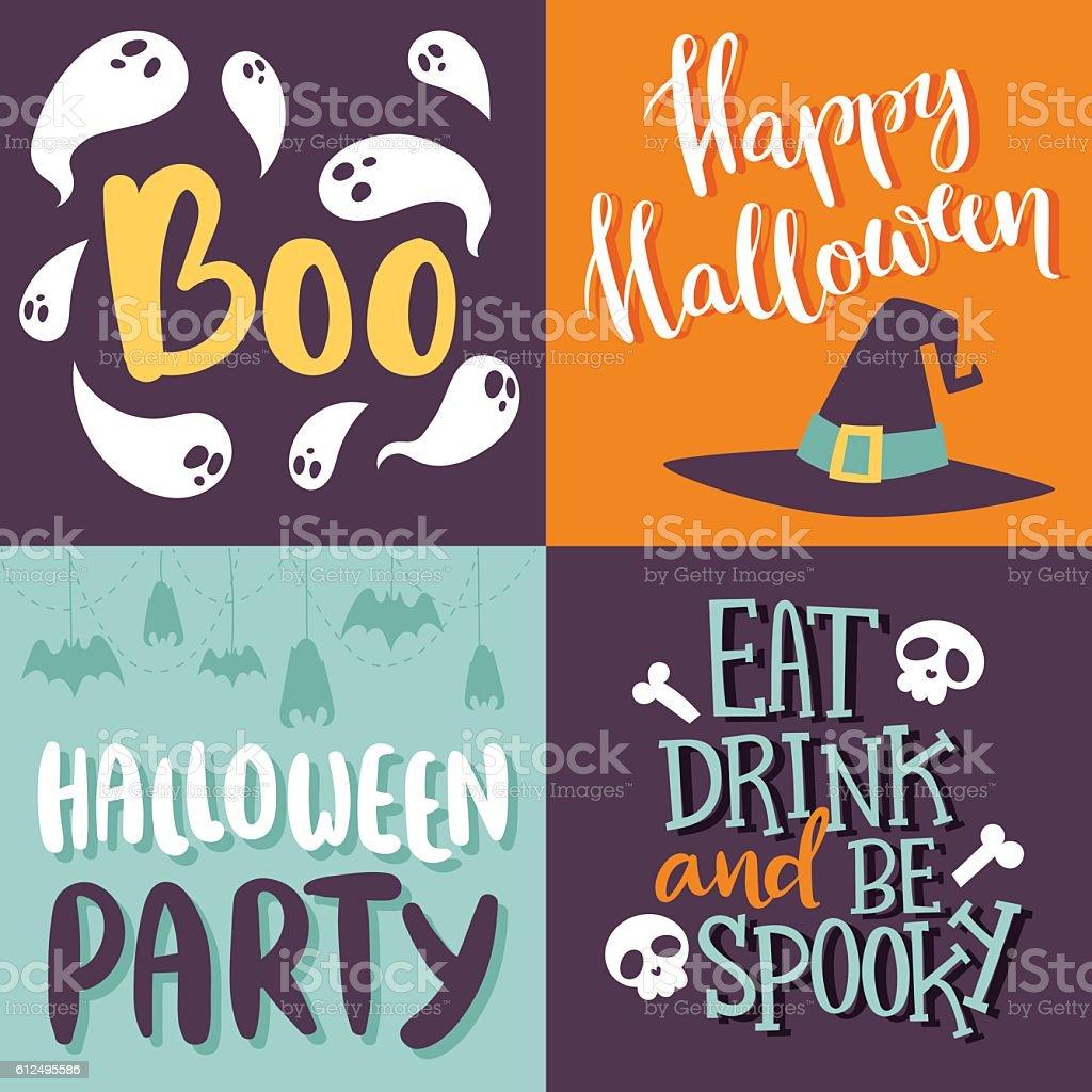 Halloween invitation cards vector stock vector art more images of halloween invitation cards vector royalty free halloween invitation cards vector stock vector art amp stopboris Gallery