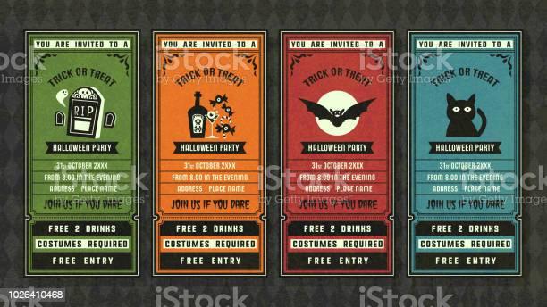 Halloween invitation collection retro style collection vector id1026410468?b=1&k=6&m=1026410468&s=612x612&h=ly1ztt816q9y6rksvzt8axdx7wzwkyjmm8fa7h 6zyo=