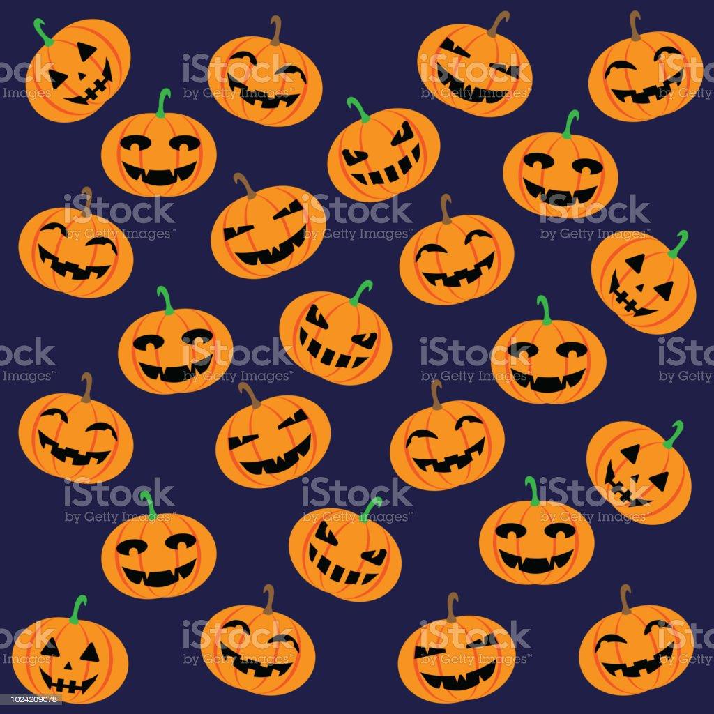 Halloween Jack O Lantern Seamless Pattern Royalty Free Halloween Jack O Lantern Seamless Pattern