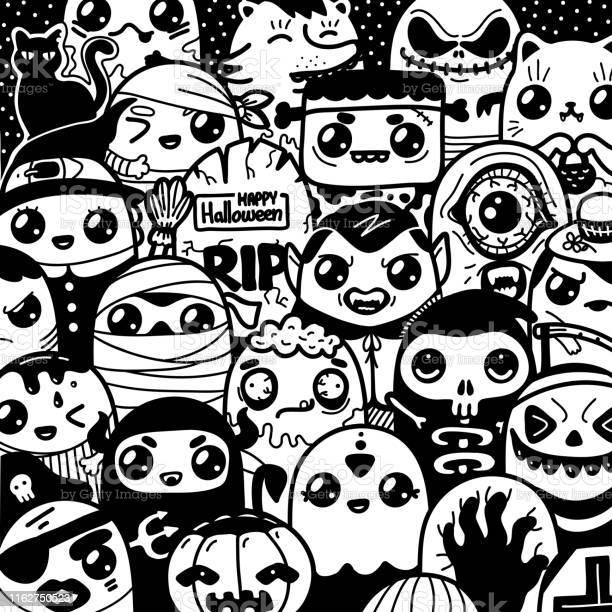 Halloween kawaii funny cartoon characters monsters vector id1162750523?b=1&k=6&m=1162750523&s=612x612&h=c ww6ax2tqwskep0etwuqzd3f0uyuhgy4xtortiults=