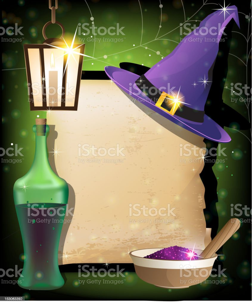 Halloween magic accessories royalty-free halloween magic accessories stock vector art & more images of bottle