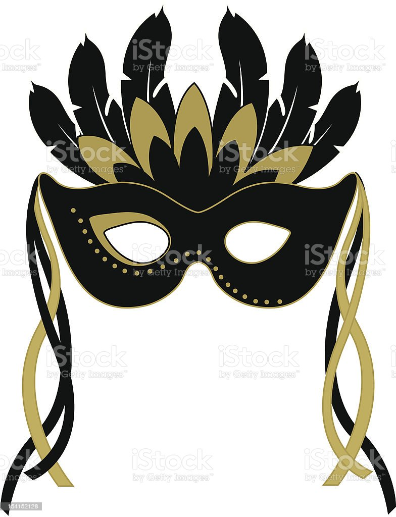 Halloween Mask royalty-free stock vector art