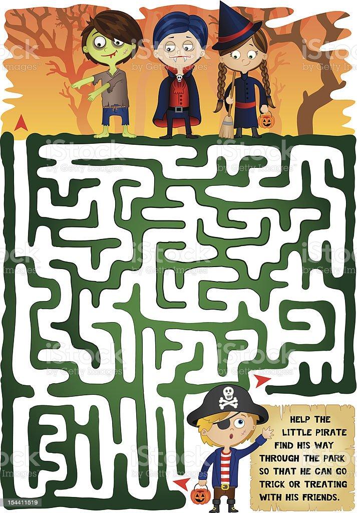 Halloween Maze for Kids