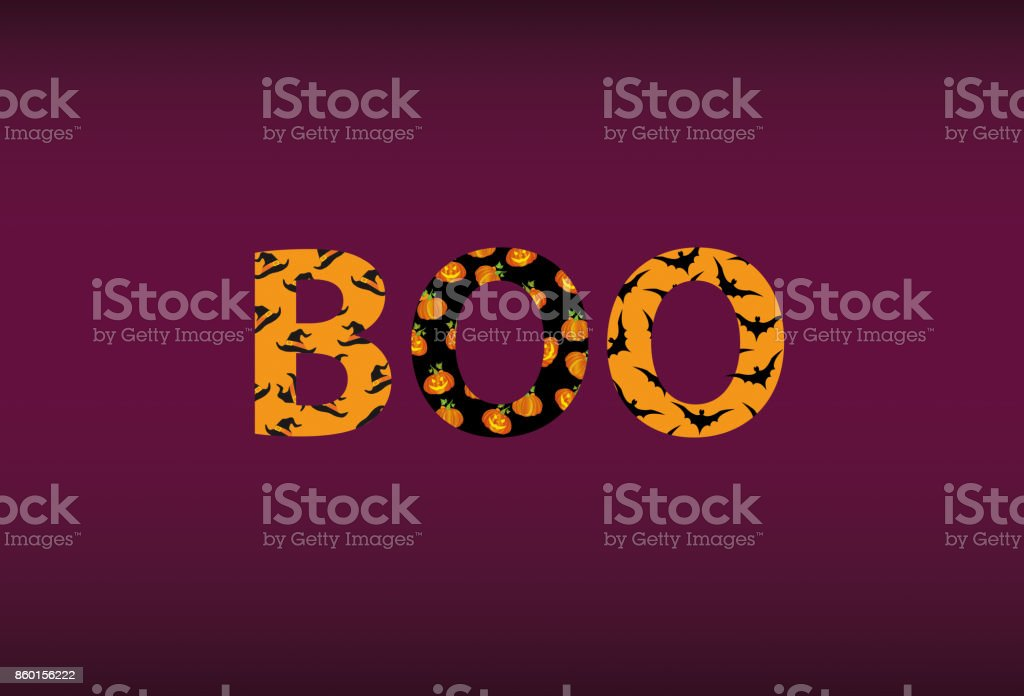 Halloween message boo vector words for invitations to a party or halloween message boo vector words for invitations to a party or greeting card m4hsunfo