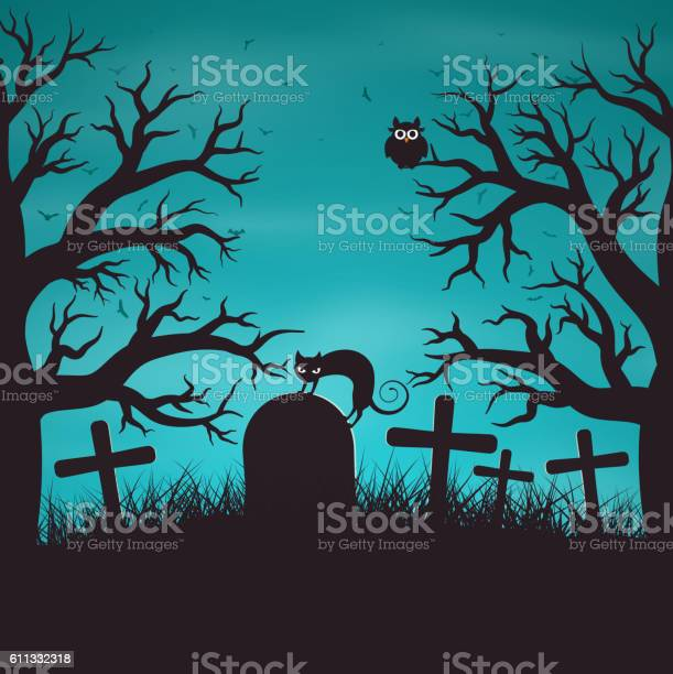 Halloween night background in wood on an old graveyard vector id611332318?b=1&k=6&m=611332318&s=612x612&h=0oweou536idajr5fl4f hsclggbdttugljeitrzmwbi=