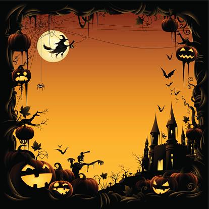 Halloween Night - Border