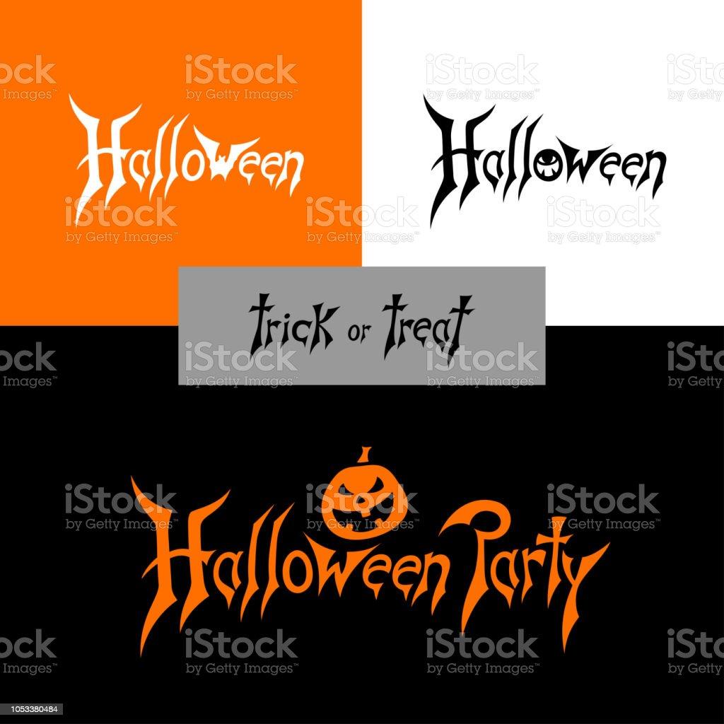 Halloween night holiday vector art illustration