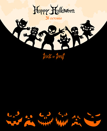 Halloween Night - Party Poster