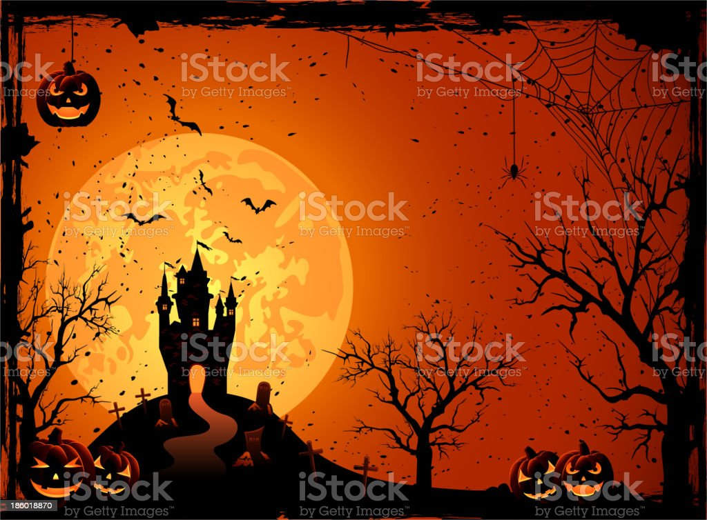 Halloween night royalty-free halloween night stock vector art & more images of abstract