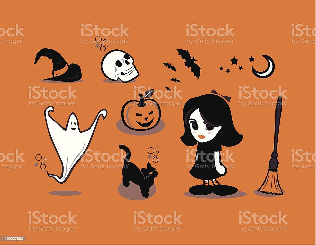 halloween orange thingies royalty-free halloween orange thingies stock vector art & more images of animal