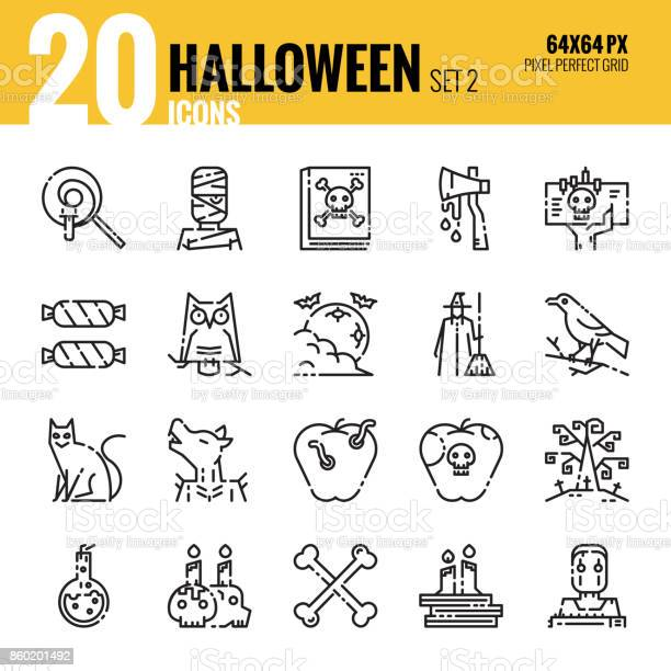 Halloween outline icons set2 vector id860201492?b=1&k=6&m=860201492&s=612x612&h=0rnhlm3qqykvhd0tla2bzohj8xtkdbdvq4qilecegxo=