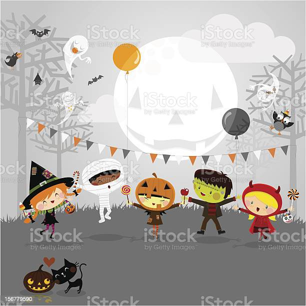 Halloween party and kids costumes vector id156779590?b=1&k=6&m=156779590&s=612x612&h=lproego39elpeh 185dyfvwbj3t ibczrr62bda8tem=