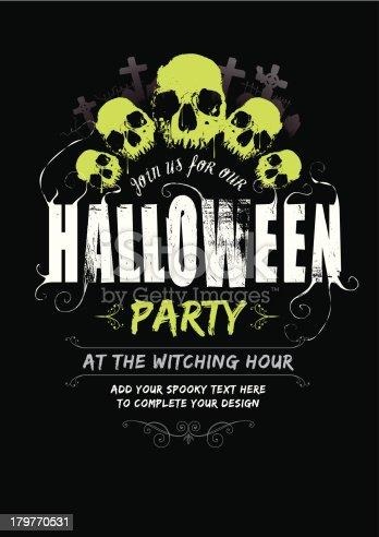 Halloween Party invite v2