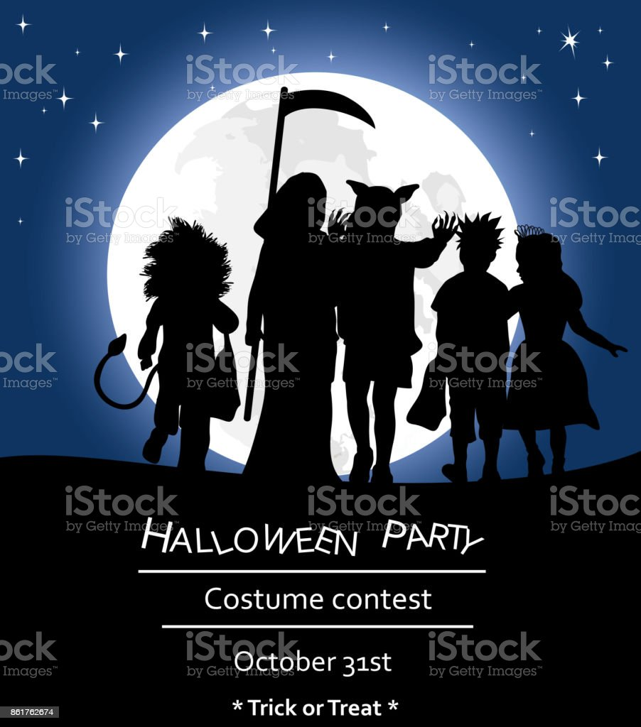 halloween party poster template stock vector art 861762674 istock