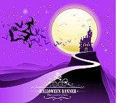 istock halloween party sign 492011040
