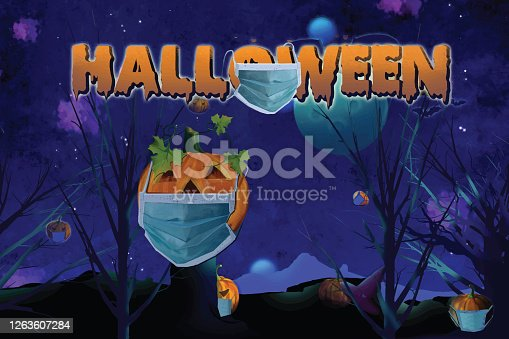 istock Halloween party 1263607284