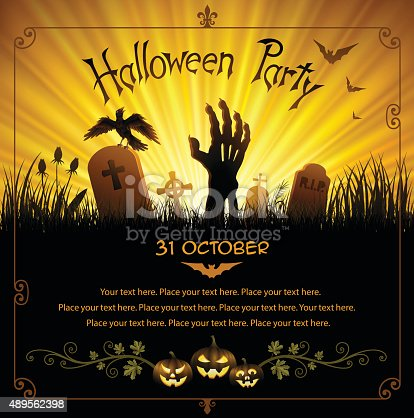 istock Halloween Party 489562398