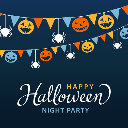 Halloween Party with Bunting