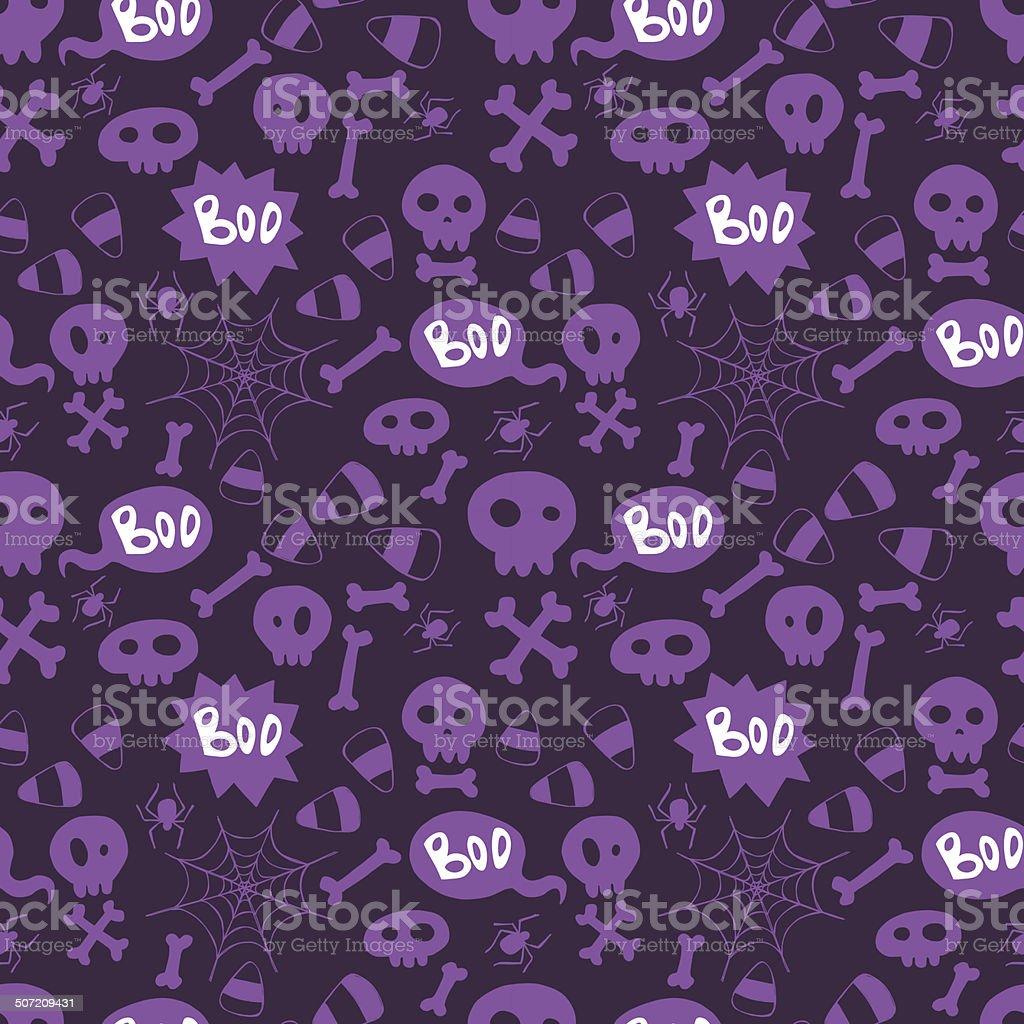 Halloween pattern royalty-free stock vector art