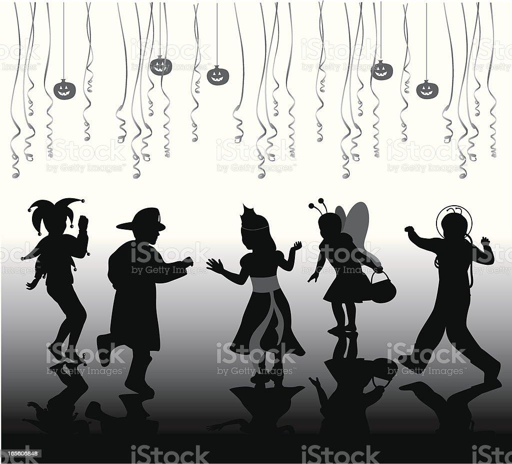 HalloweenPeoples - ilustración de arte vectorial