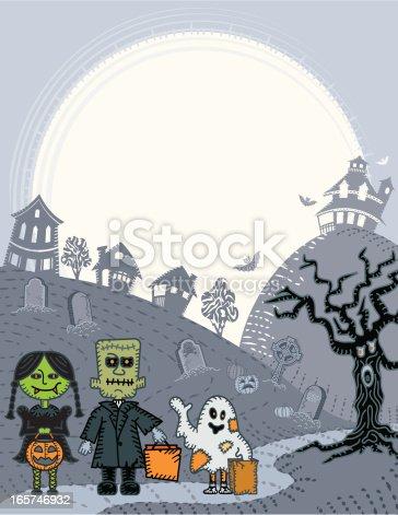 istock Halloween Poster 165746932