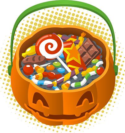Halloween Pumpkin Candy Corn