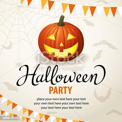 istock Halloween Pumpkin Carving Party 599676322