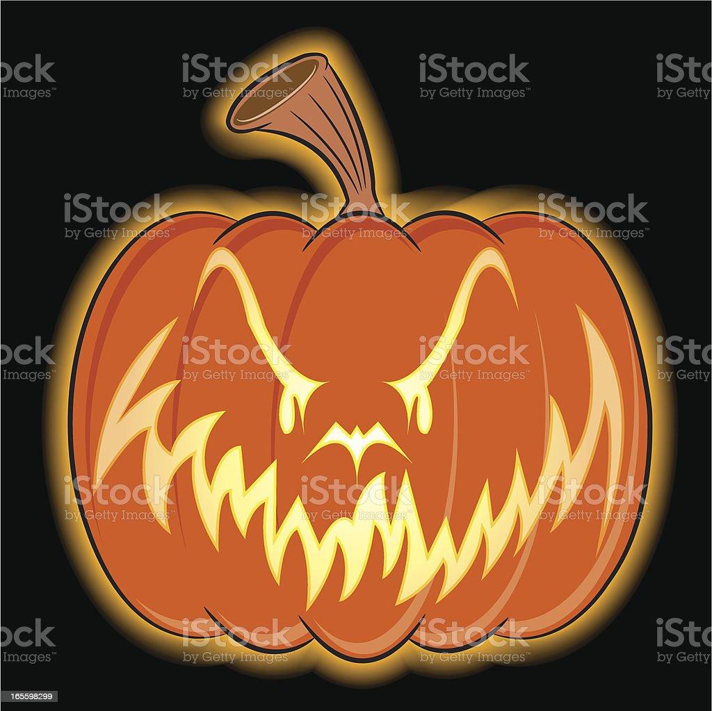 Halloween calabaza cara ilustración de halloween calabaza cara y más banco de imágenes de calabaza gigante libre de derechos