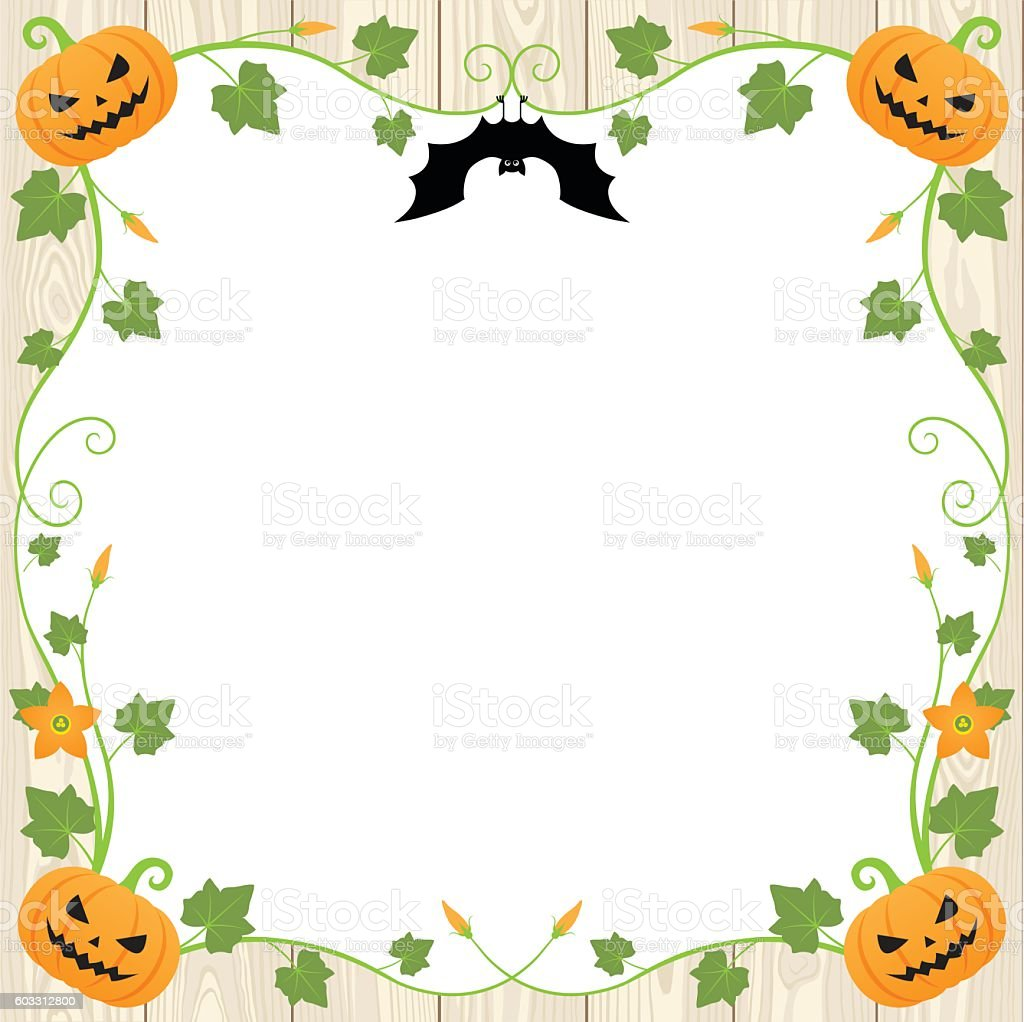 Halloween pumpkin frame on wood background stock vector art more halloween pumpkin frame on wood background royalty free halloween pumpkin frame on wood background stock jeuxipadfo Choice Image
