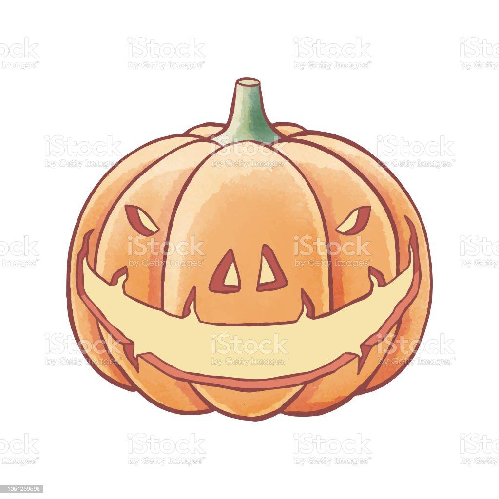 Halloween Tekeningen Pompoen.Halloween Pompoen Potlood Tekening Stockvectorkunst En Meer