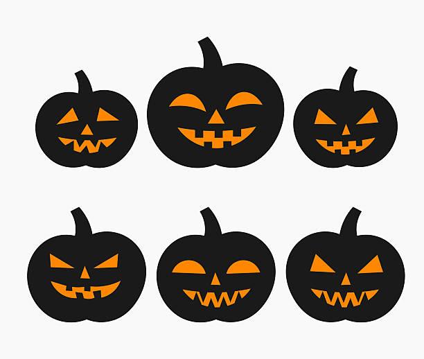 Royalty Free Halloween Pumpkin Clip Art, Vector Images ...