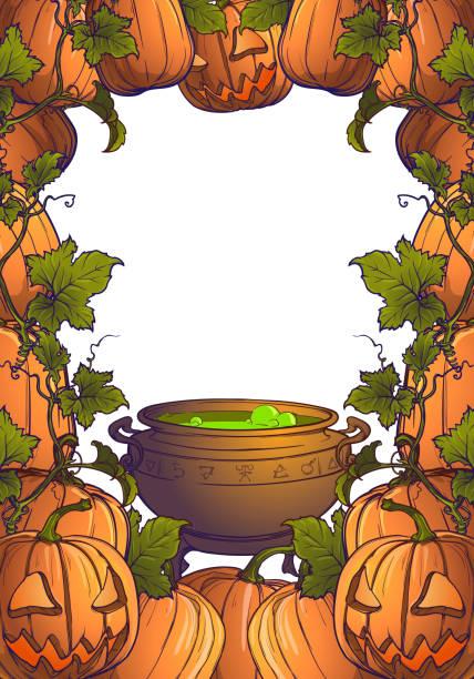 Vectores de Plantillas De Calabaza De Halloween y Illustraciones ...