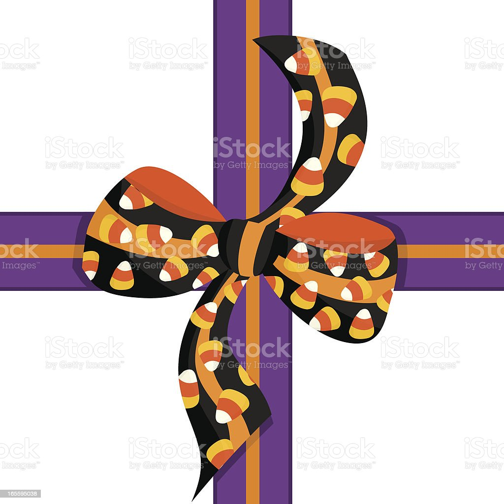 Halloween Ribbon and Bow royalty-free halloween ribbon and bow stock vector art & more images of candy corn