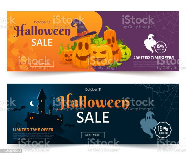 Halloween sale promo web banner colorful halloween coupons with vector id1030925048?b=1&k=6&m=1030925048&s=612x612&h=km6wlol2vg6 l 1wgml46rqp esdt7322uaazq31z s=
