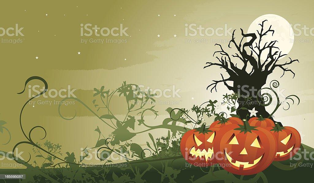 halloween scene royalty-free halloween scene stock vector art & more images of celebration event