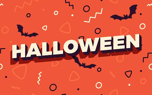 Halloween Seamless Celebration Party Background