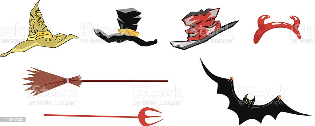 Halloween set 1 royalty-free stock vector art