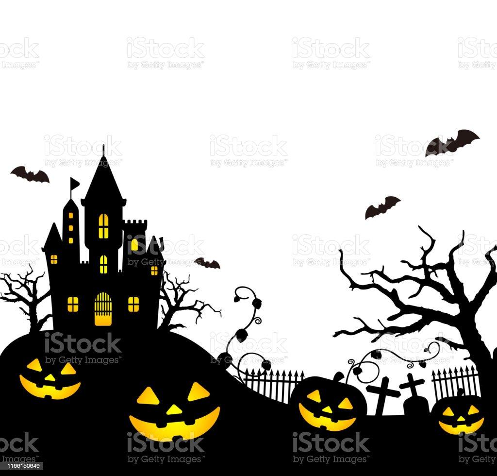 Halloween Silhouette Vector Illustration Stock Illustration Download Image Now Istock