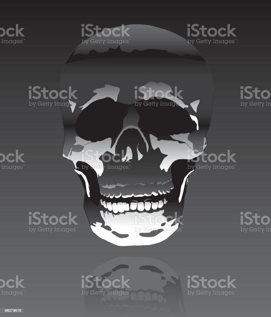Halloween Skull royalty-free halloween skull stock vector art & more images of back lit