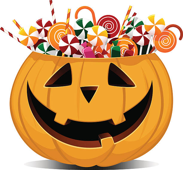 Royalty Free Trick Or Treat Clip Art, Vector Images ...