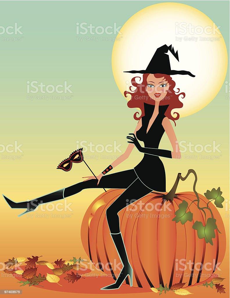 Halloween Sorceress royalty-free halloween sorceress stock vector art & more images of adult